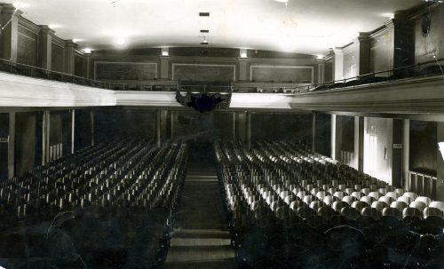 Widownia kinoteatru Corso