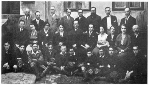 Uczniowie i nauczyciele lubelskiego Tarbutu