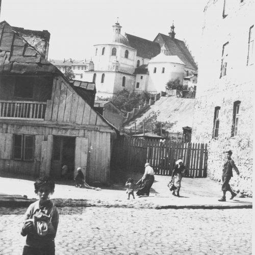 Ulica Krawiecka. Fot. Stanisław Pastusiak