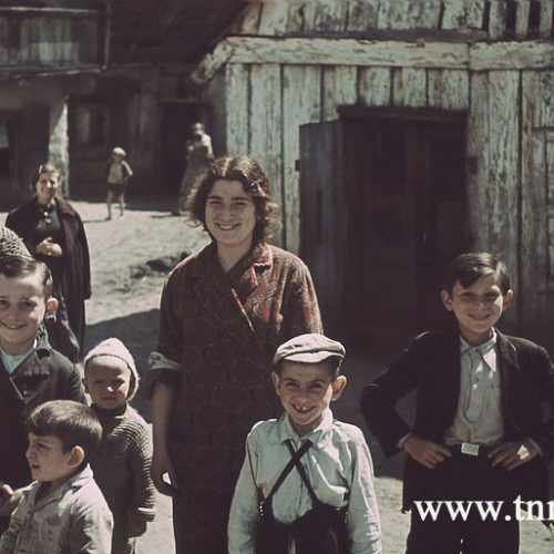 Ulica Krawiecka 7. 1940 rok. Fot. Max Kirnberger. Źródło: Deutches Historisches Museum