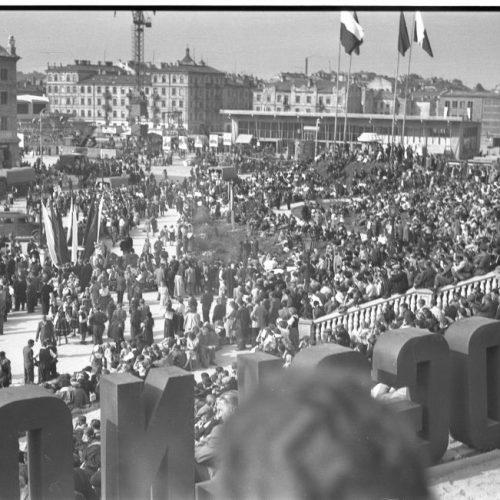 22 lipca 1954 roku w Lublinie. Fot. Edward Hartwig