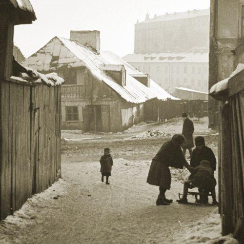 Ulica Krawiecka. Fot. Stanisław Magierski