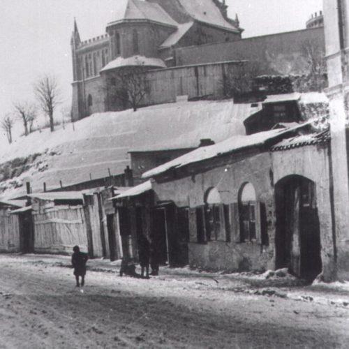 Ulica Krawiecka. Fot. Józef Czechowicz. Źródło: Muzeum Lubelskie