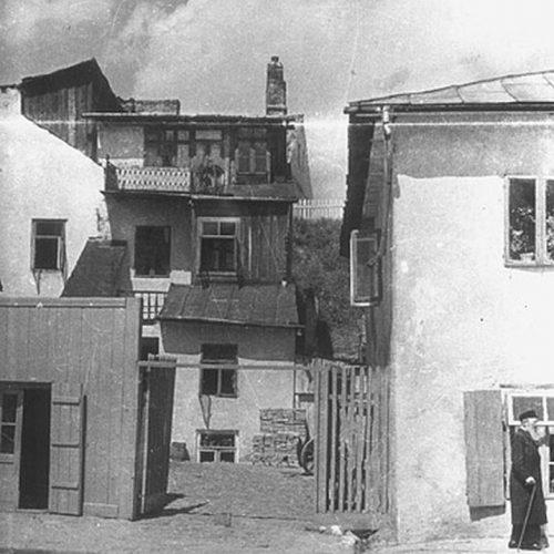 Ulica Krawiecka. Fot. Stefan Kiełsznia