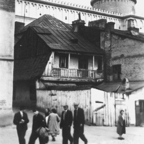 Ulica Krawiecka. Fot. Wiktor Ziółkowski. Źródło: Muzeum Historii Miasta Lublina