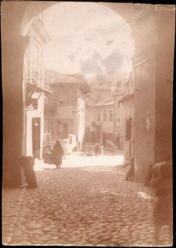 Widok z Bramy Grodzkiej na di Brik, czyli Psią Górkę, ze zbiorów Danuty Kowal
