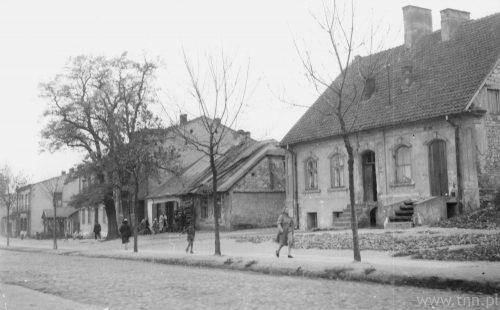 Ulica Kalinowszczyzna, ze zbiorów Symchy Wajsa