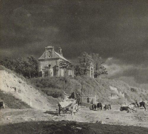 Ten andaluzyjski krajobraz to w rzeczywistości swojski Czutyk, Kościół św. Mikołaja na Czwartku, Wikimedia Commons, T. Chrzanowski,